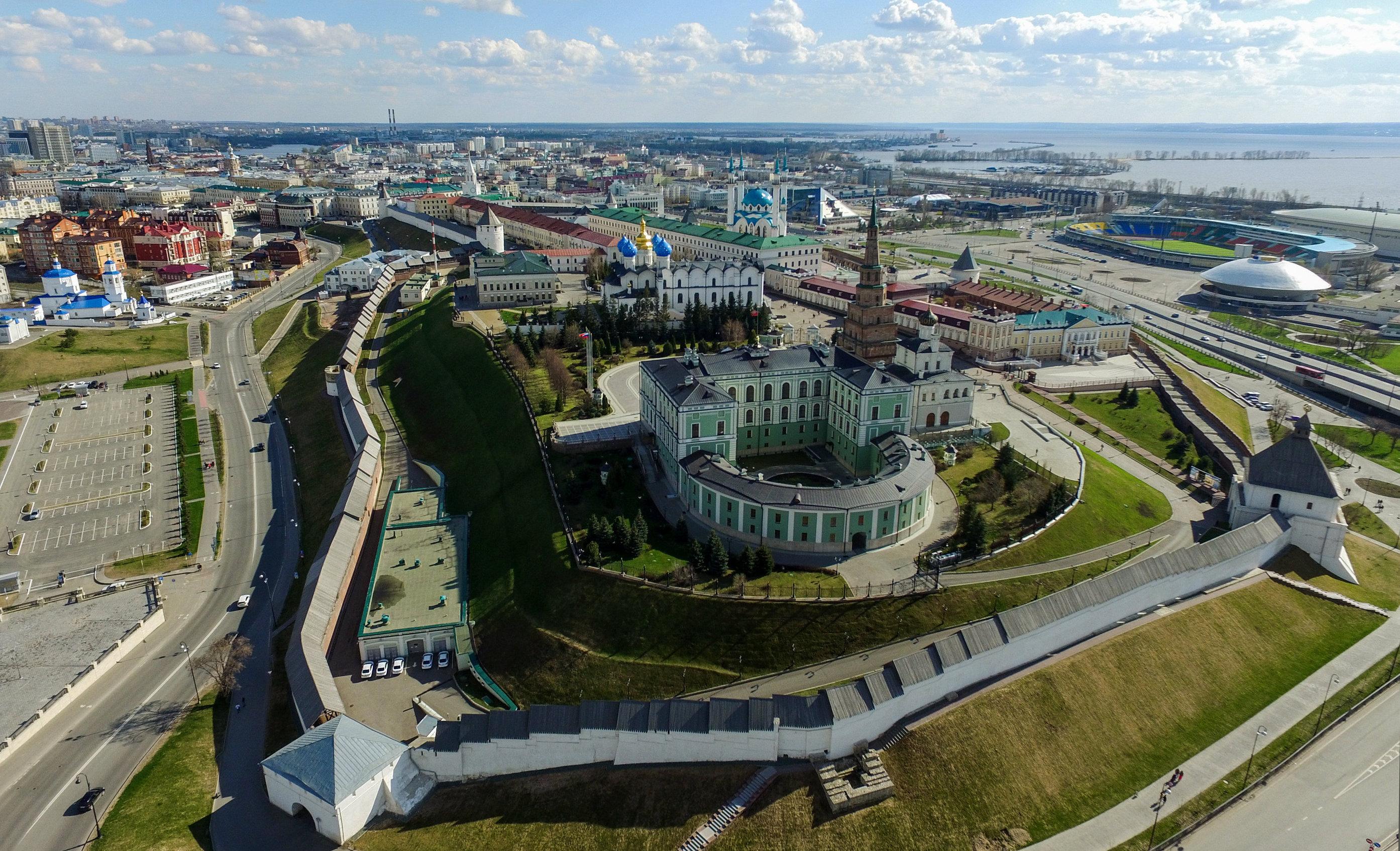 El Kremlin de Kazán
