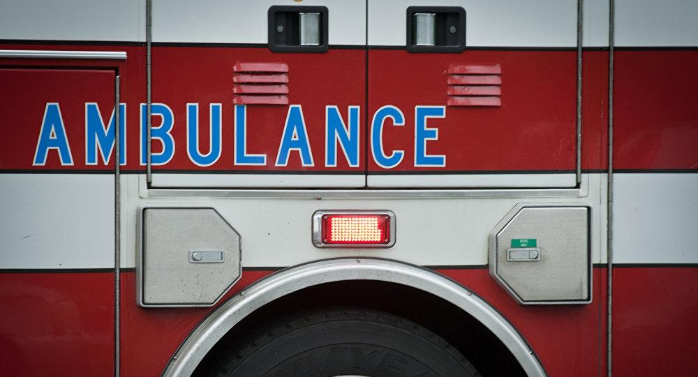 Una ambulancia en EEUU (archivo)