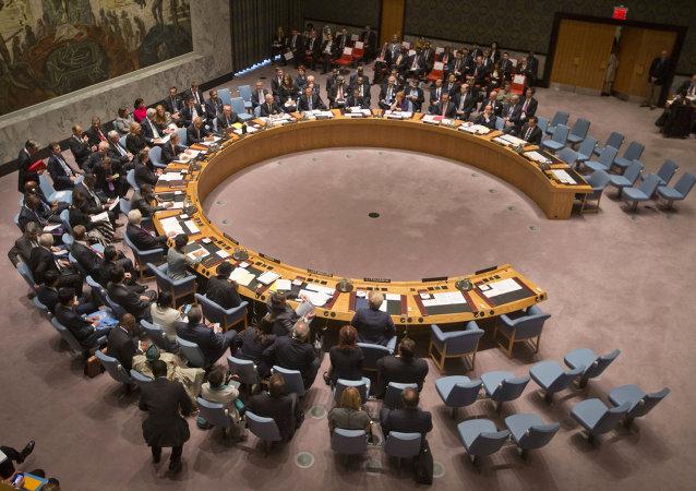 Reunión del Consejo de Seguridad de la ONU (archivo)