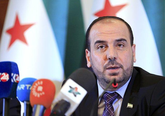El jefe del ACN durante una rueda de prensa en Ginebra