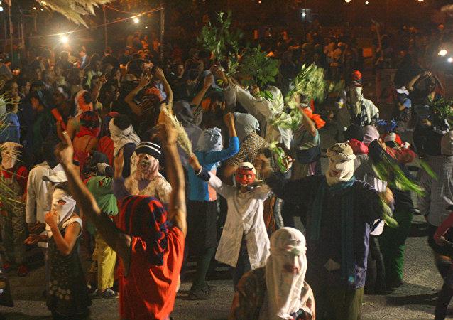 Desfile del Entierro del Carnaval