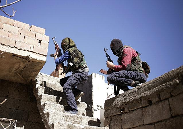 Combatientes de PKK (archivo)