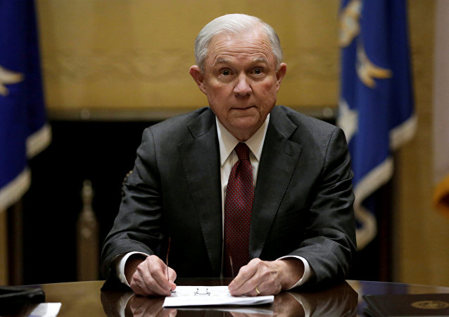 Jeff Sessions, secretario de Justicia de Estados Unidos