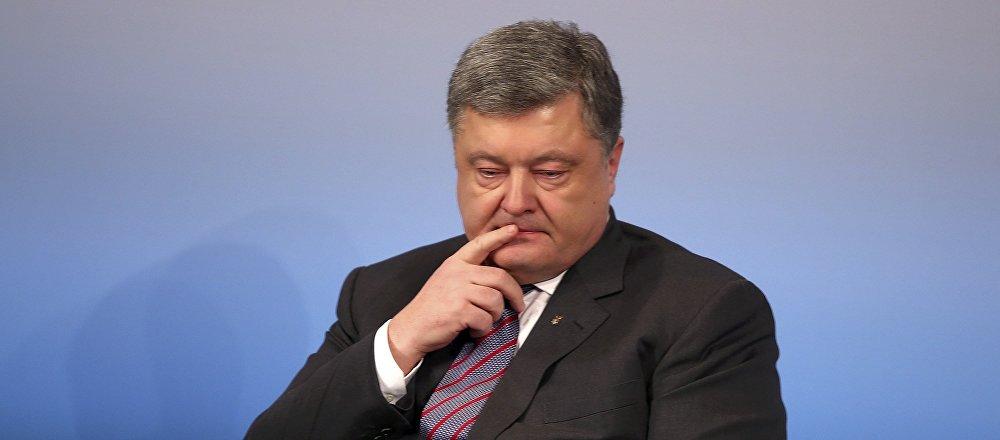 El presidente de Ucrania, Petro Poroshenko