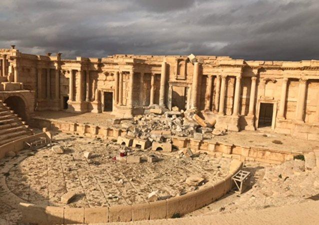 El complejo histórico de Palmira en la provincia siria de Homs (archivo)