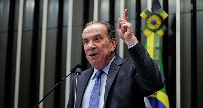 Aloysio Nunes, ministro de Relaciones Exteriores de Brasil