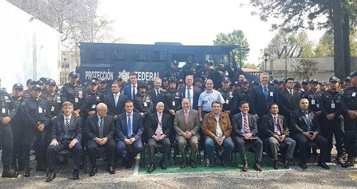 Rusia cede a las fuerzas federales de México blindado Gorets M