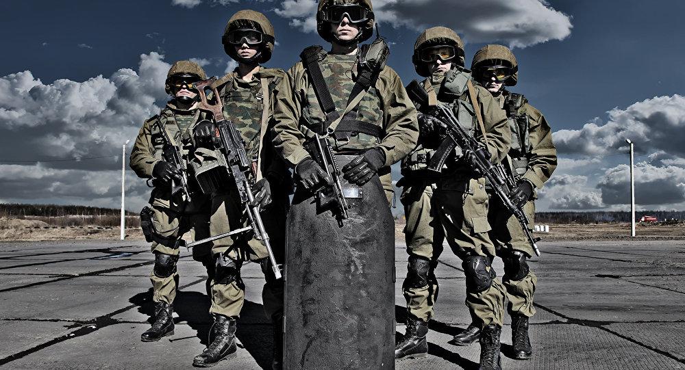 Fuerzas Especiales rusas (Archivo)