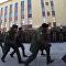 Cadetes angolanos marchan en San Petersburgo