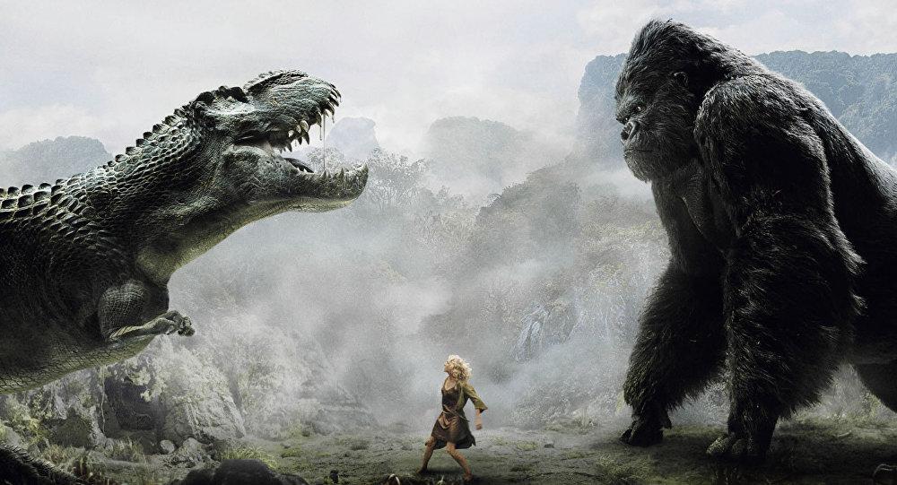 Un episodio de la película de aventuras King Kong
