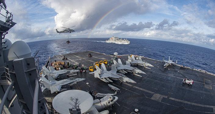 El portaviones USS Carl Vinson