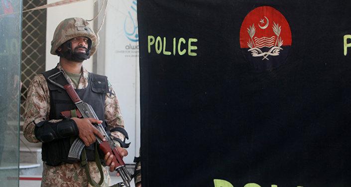 Un militar pakistaní (archivo)