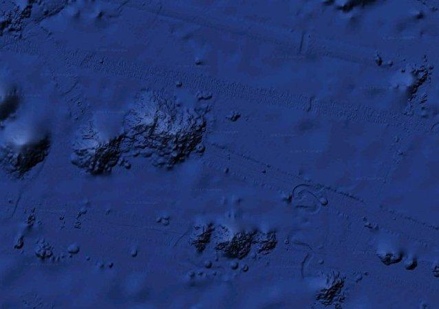 Un 'objeto desconocido' en el océano Pacífico