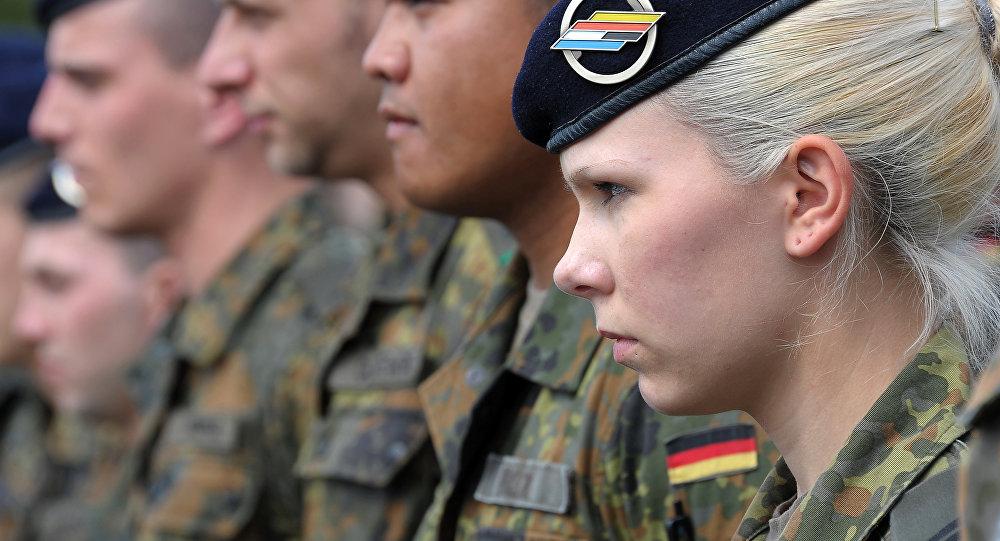 Militares alemanes (archivo)