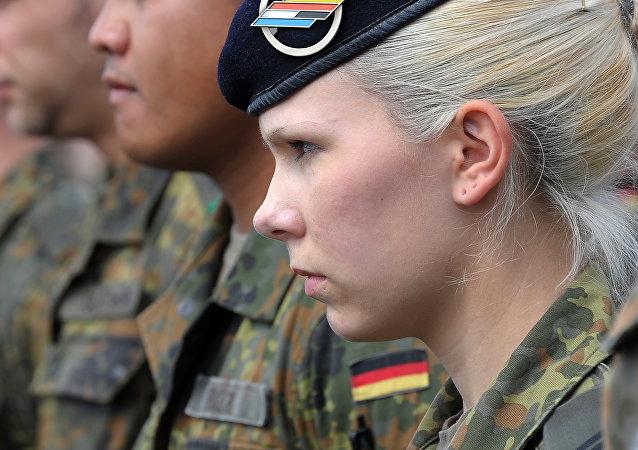 Soldados alemanes (archivo)