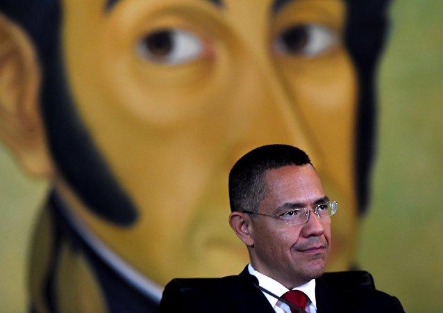 Ministro de Cultura venezolano, Ernesto Villegas