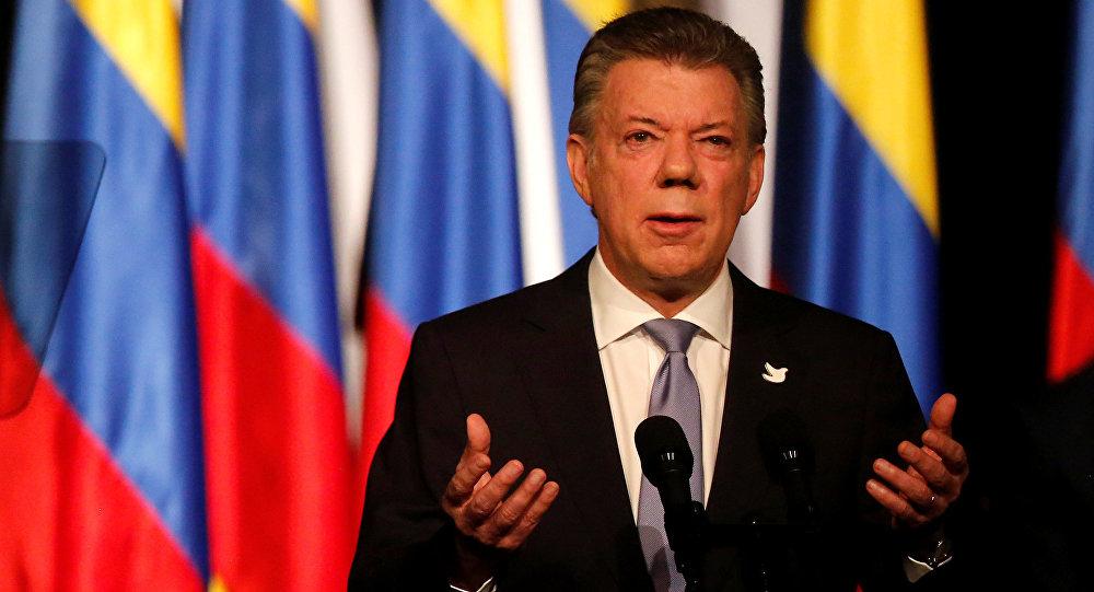 Juan Manuel Santos expresidente de Colombia (arfchivo)