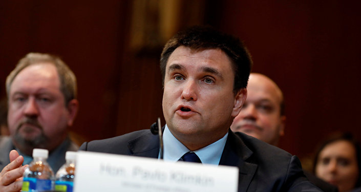 Pavló Klimkin, ministro de Exteriores ucraniano