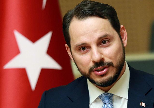 Berat Albayrak, ministro de Energía de Turquía