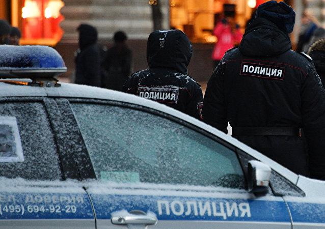 Policía de Rusia