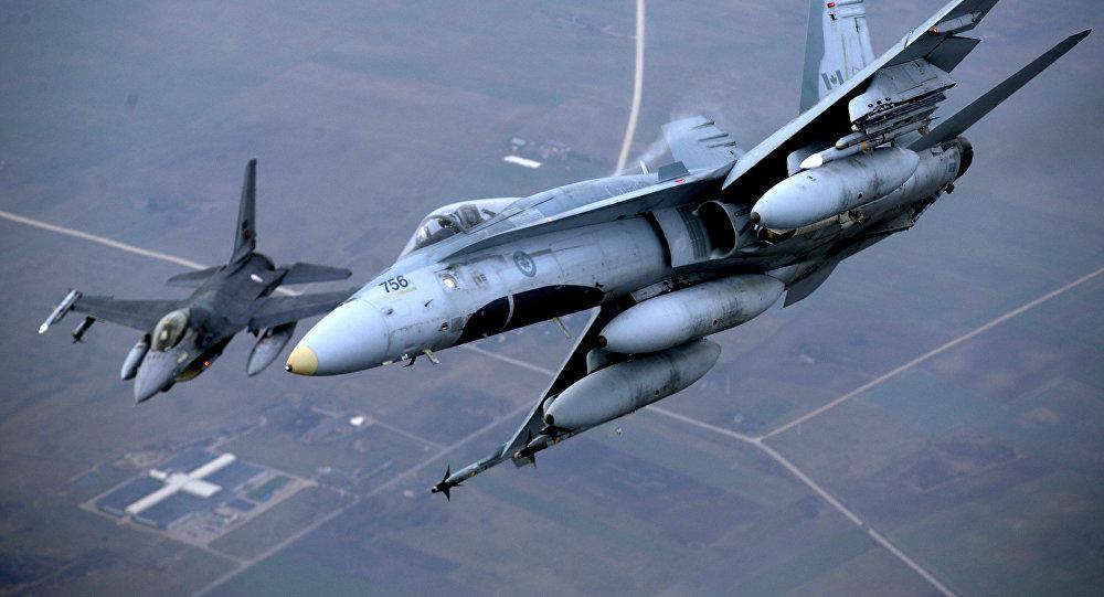Aviones de la OTAN en Lituania (archivo)