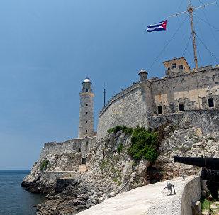 El castillo de los Tres Reyes del Morro, La Habana, Cuba (archivo)