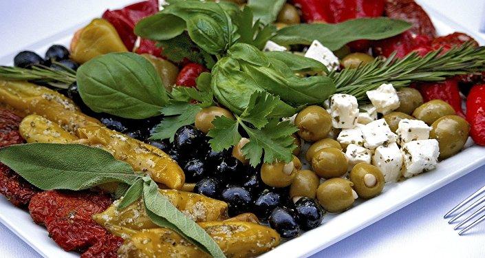 La dieta mediterránea (imagen referencial)