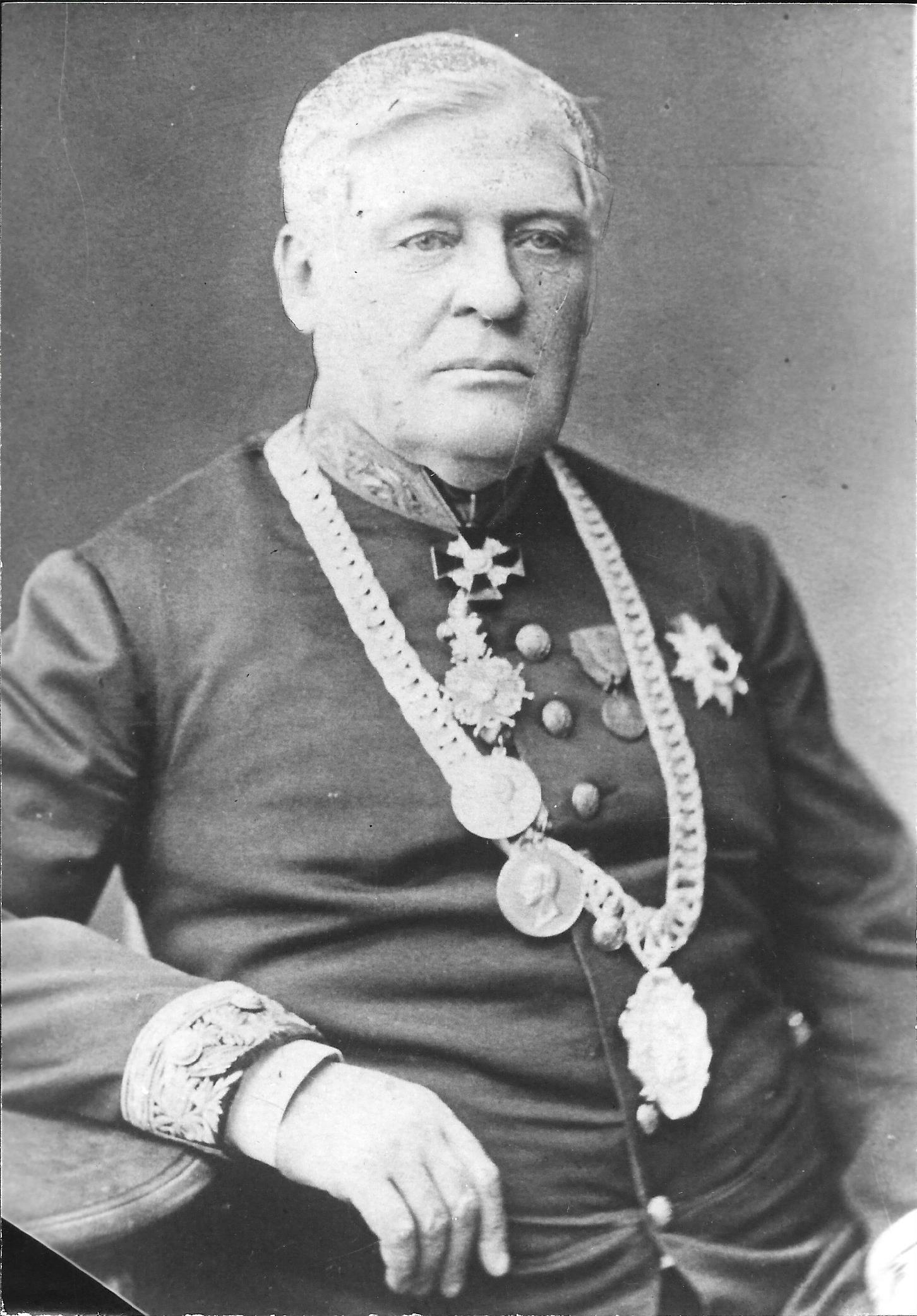Nikolái Nikitich Dobrynin, el gobernador de la ciudad rusa de Tula del siglo XIX