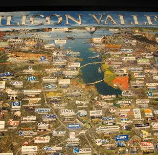 El mapa de Silicon Valley