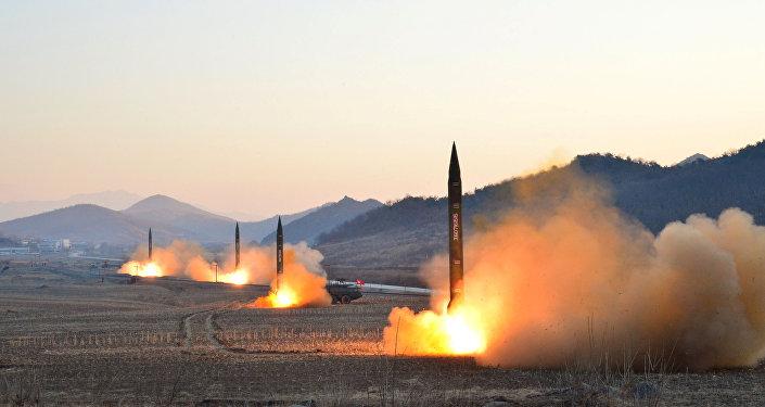 Misiles norcoreanos (archivo)