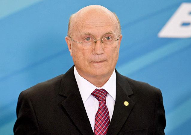 Osmar Serraglio, ministro de Justicia brasileño