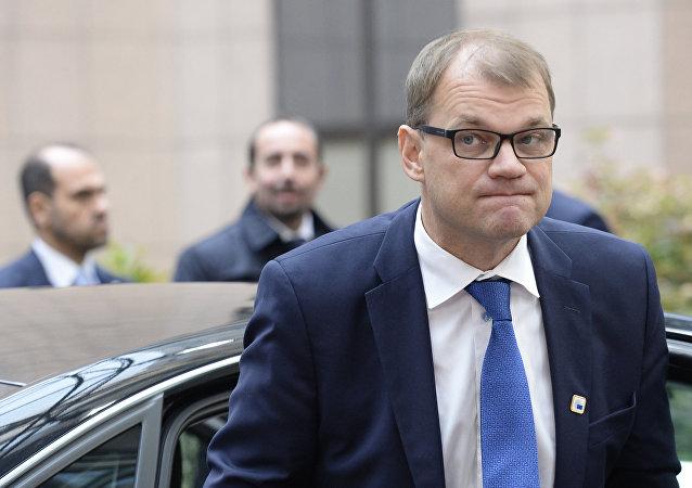 Juha Sipila, primer ministro de Finlandia (archivo)