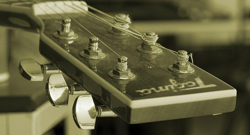 Una guitarra (archivo)