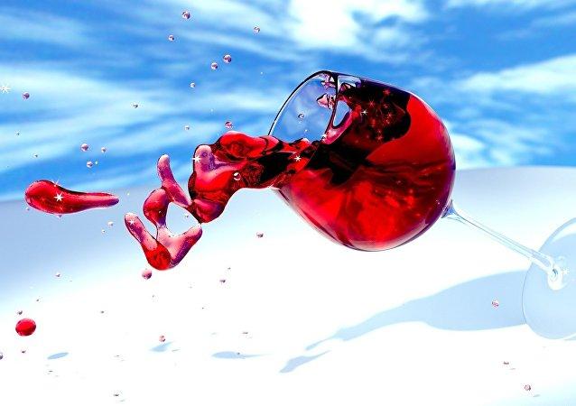 Copa de vino (archivo)