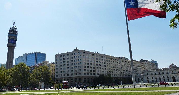 Bandera de Chile (imagen referencial)