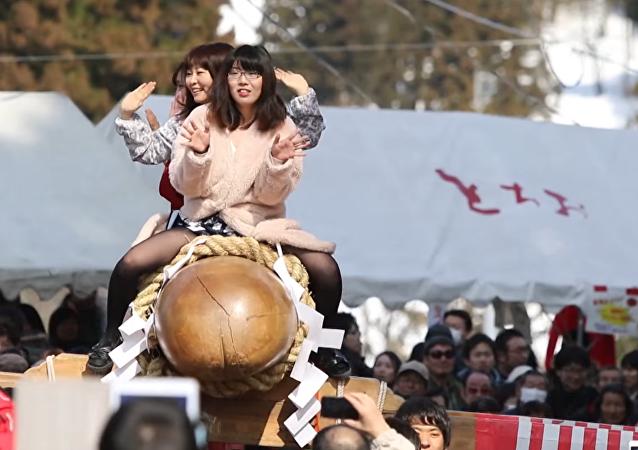 El curioso festival de la fertilidad en Japón
