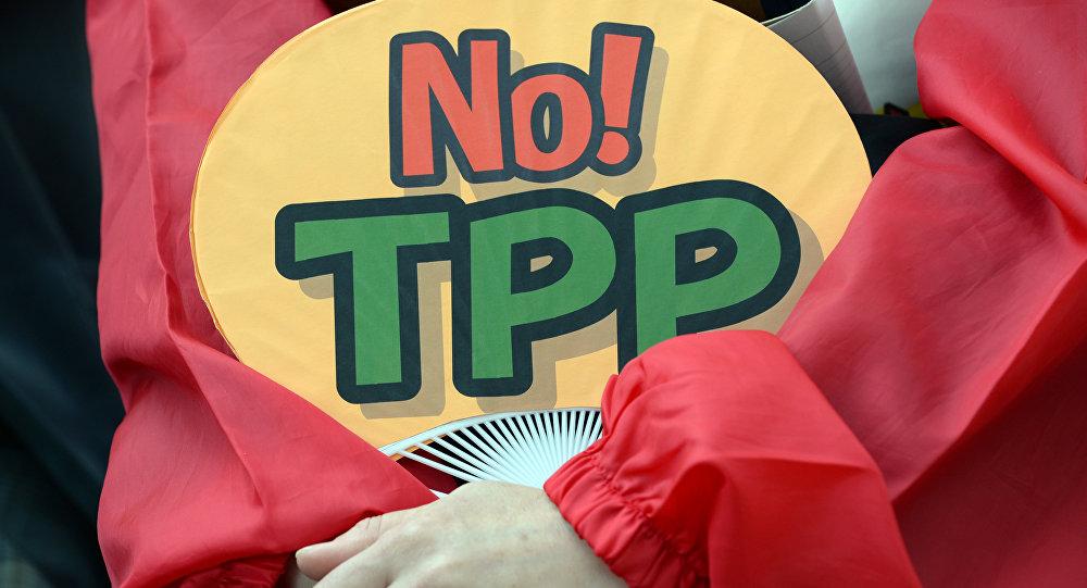 Demostración contra el TPP (archivo)