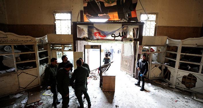 Atentado en el Palacio de Justicia en Damasco, Siria