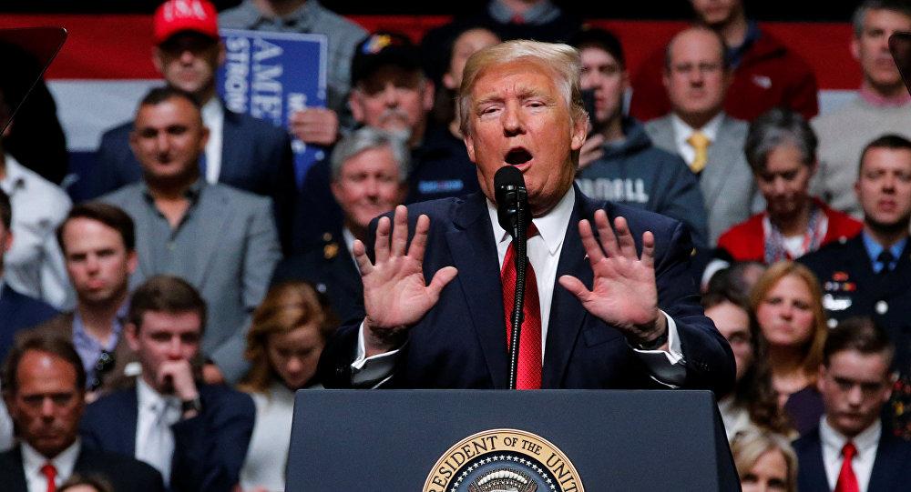 Pide Trump asignar 2 mil 600 mdd iniciales para muro fronterizo
