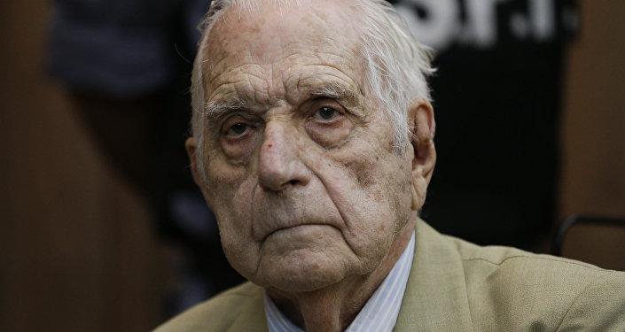 Reynaldo Bignone, exdictador argentino