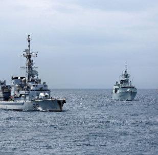 Los buques de la OTAN (imágen referencial)