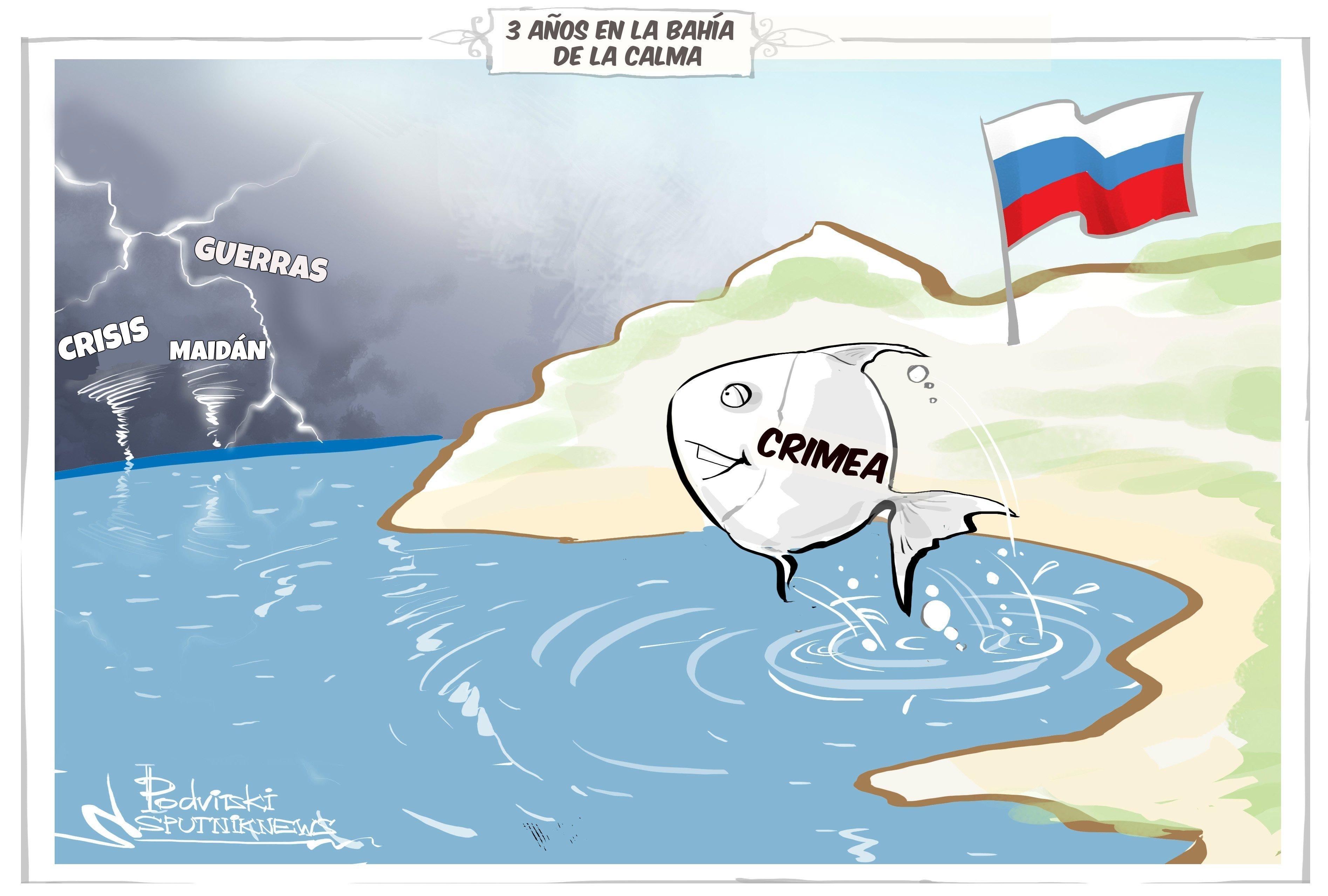 Crimea, tres años en la bahía de la calma