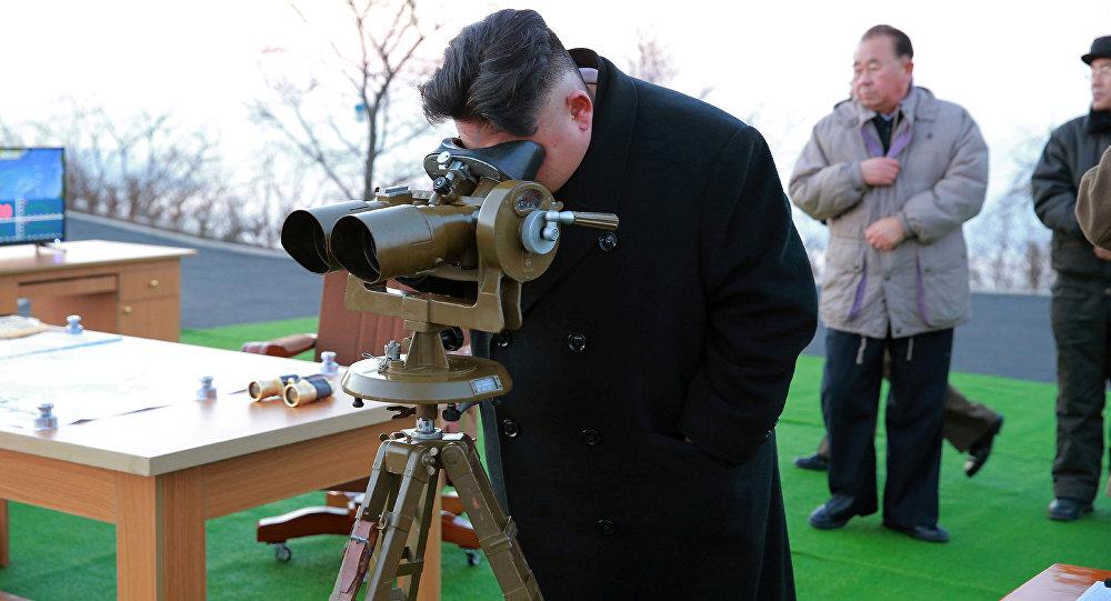 Kim Jong Un, líder norcoreano (archivo)