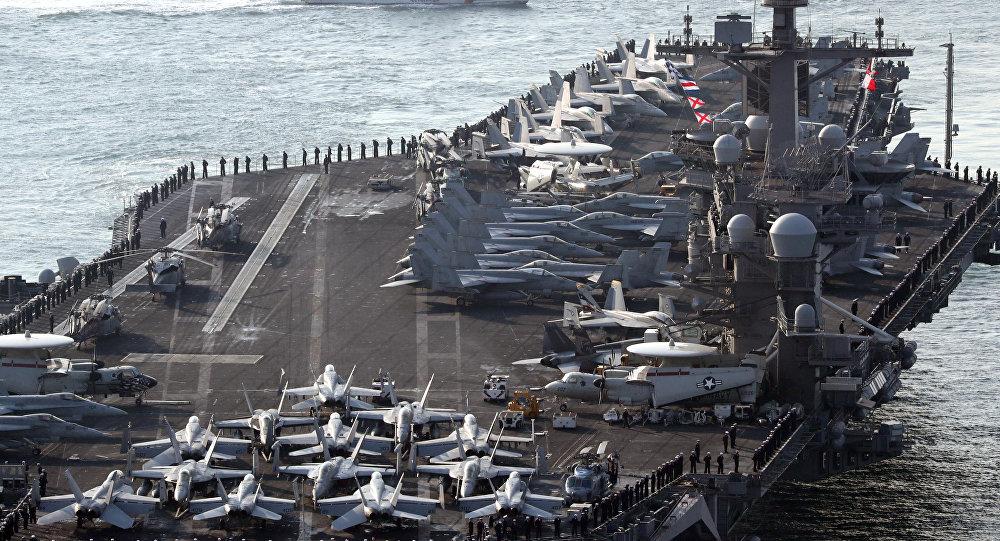 Maniobras conjuntas de Corea del Sur y EEUU 'Foal Eagle' (archivo)