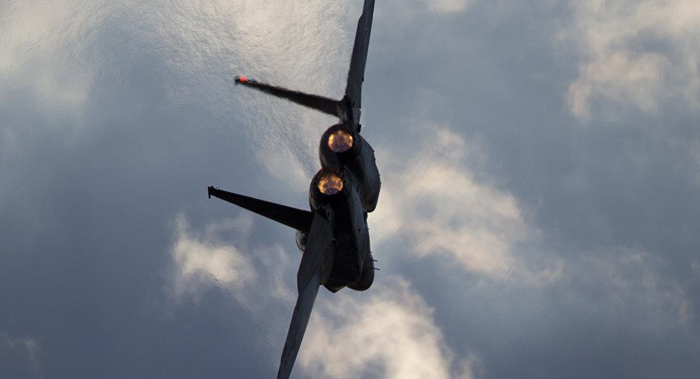 Un avión israelí F-15 (archivo)