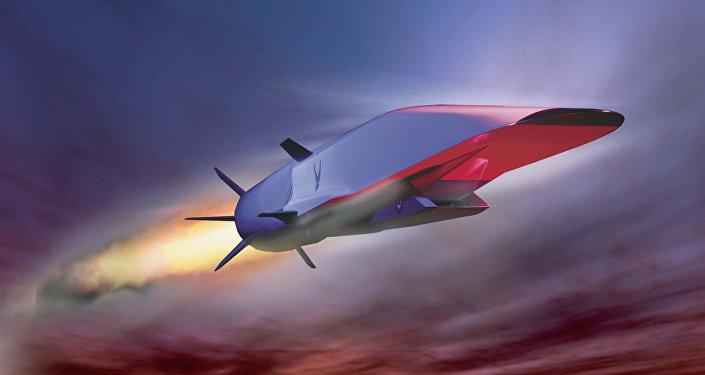 La imagen de Boeing X-51A Wave Rider, el vehiculo hipersónico experimental estadounidense probado en 2010