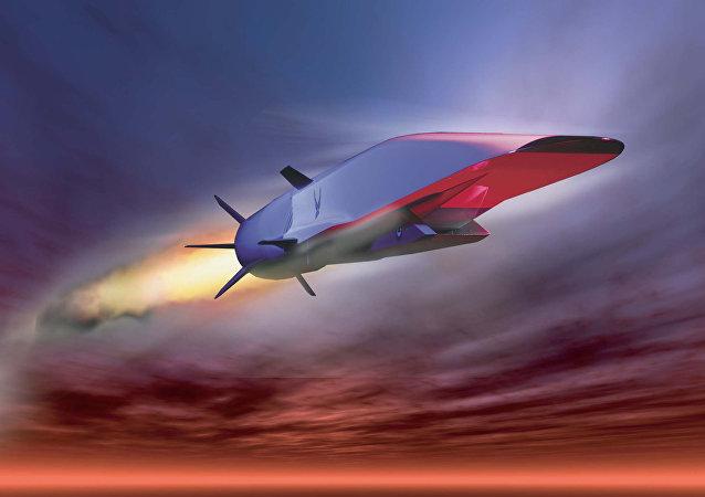 Vehículo hipersónico volador, imagen referencial
