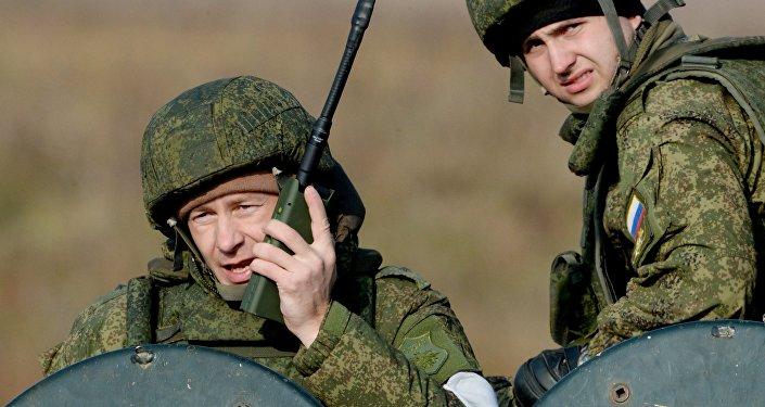 Militares rusos (imagen referencial)