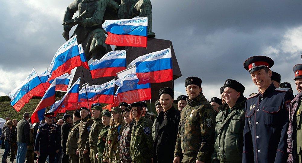 Las celebraciones del aniversario de la reunificación de Crimea con Rusia en Sebastopol