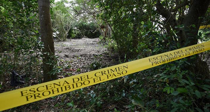 La fosa clandestina en México (Archivo)